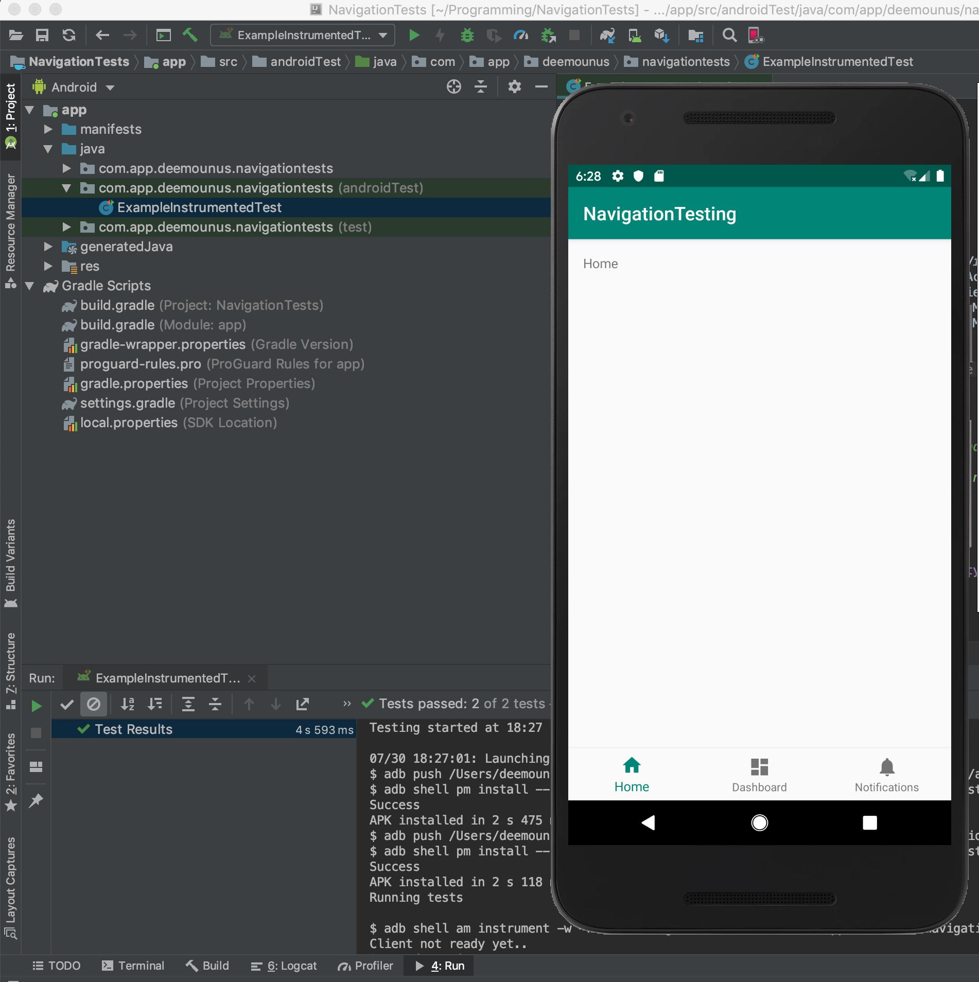 Автоматизация Android. Супер простое руководство по созданию первого Espresso-теста - 11
