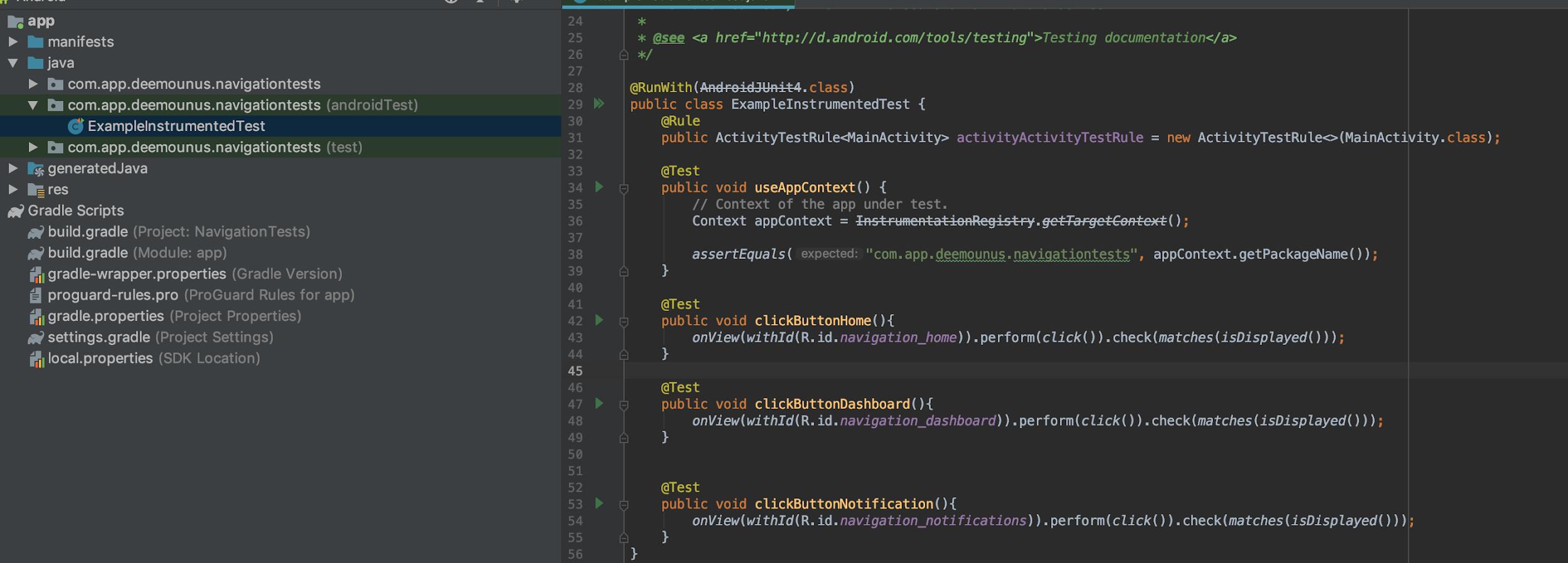Автоматизация Android. Супер простое руководство по созданию первого Espresso-теста - 14