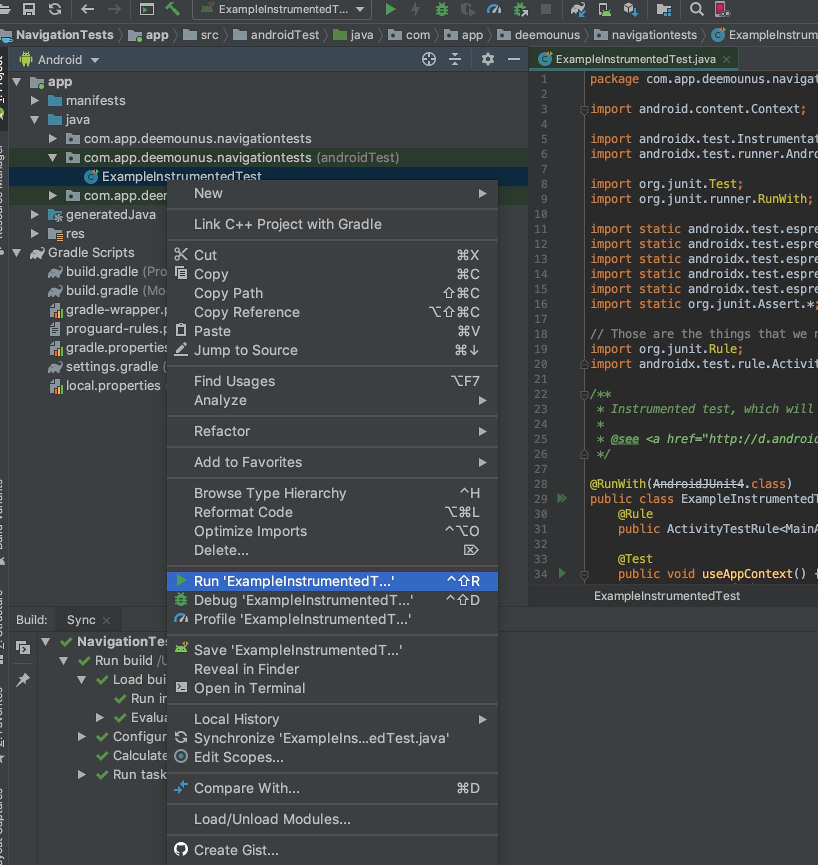 Автоматизация Android. Супер простое руководство по созданию первого Espresso-теста - 9