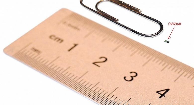 Датчик изображения Omnivision OV6948 назван самым маленьким в мире