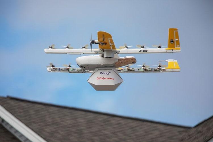 Первый пошёл: Alphabet Wing обслужила первый заказ по доставке дронами