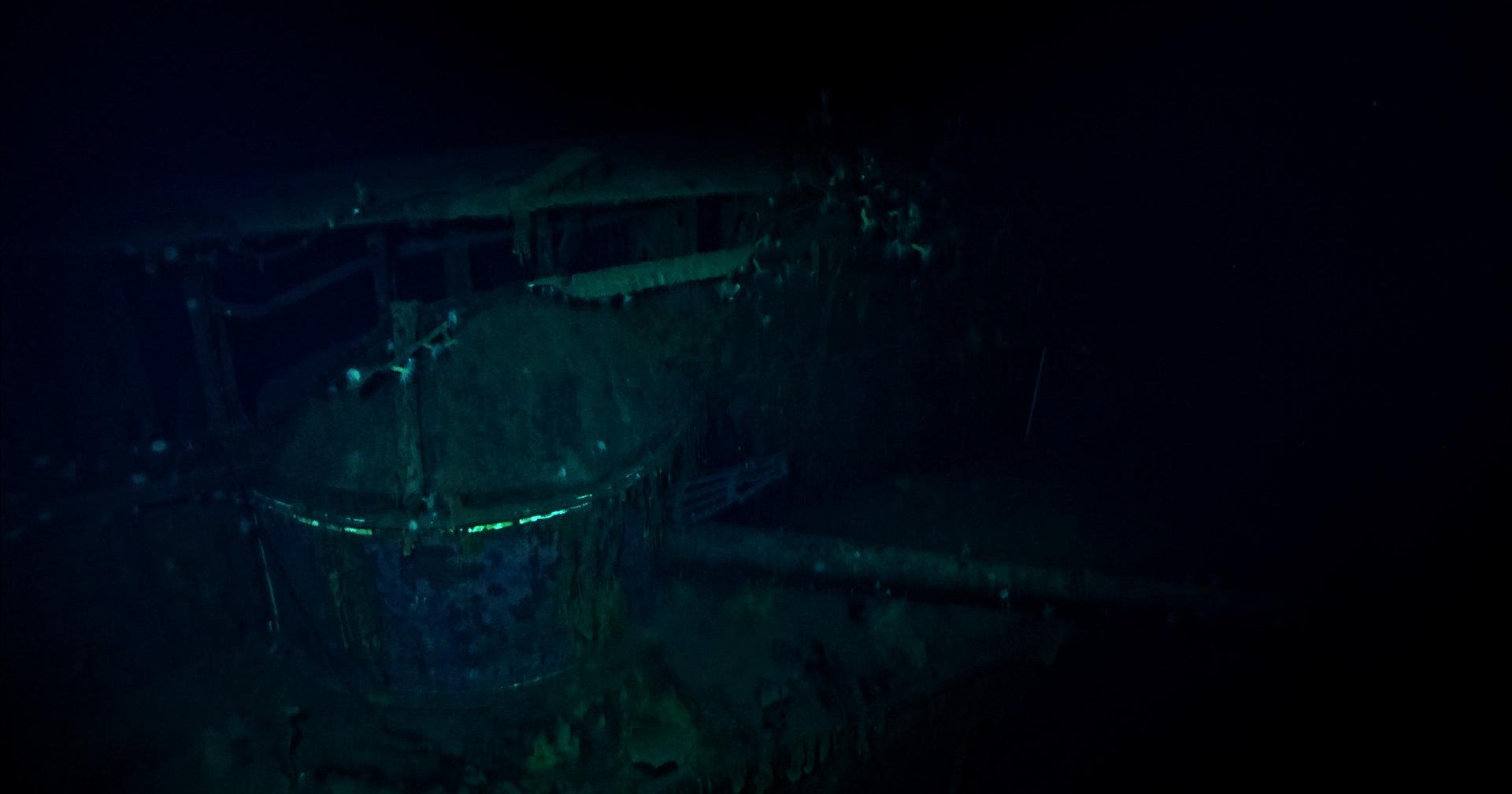 Подводный дрон помог найти японский авианосец, потопленный в 1942 году