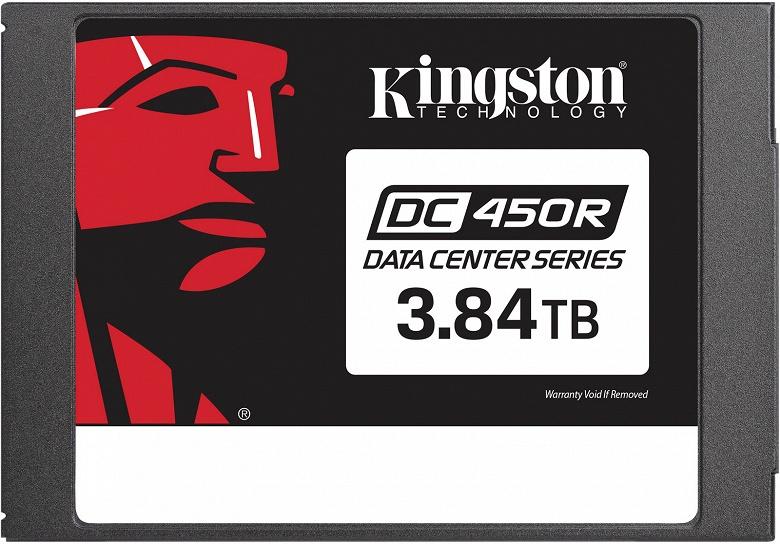 Твердотельные накопители Kingston DC450R предназначены для корпоративного сегмента