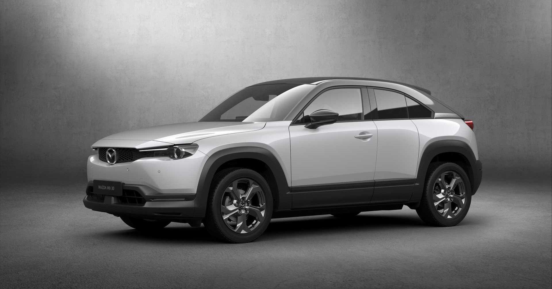 Mazda презентовала свой первый электромобиль