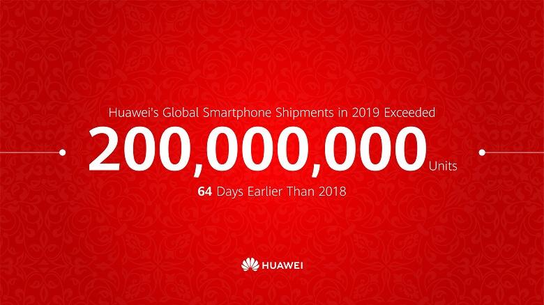 А санкции точно были? Huawei уже реализовала 200 млн смартфонов с начала года