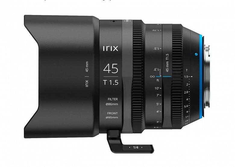 Анонсирован выпуск объектива Irix Cine 45mm T1.5