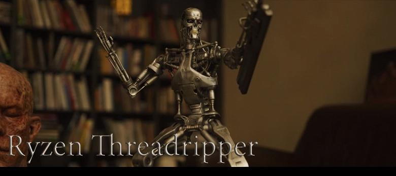 Фильм «Терминатор: Тёмные судьбы» создавался на процессорах Ryzen Threadripper 3000