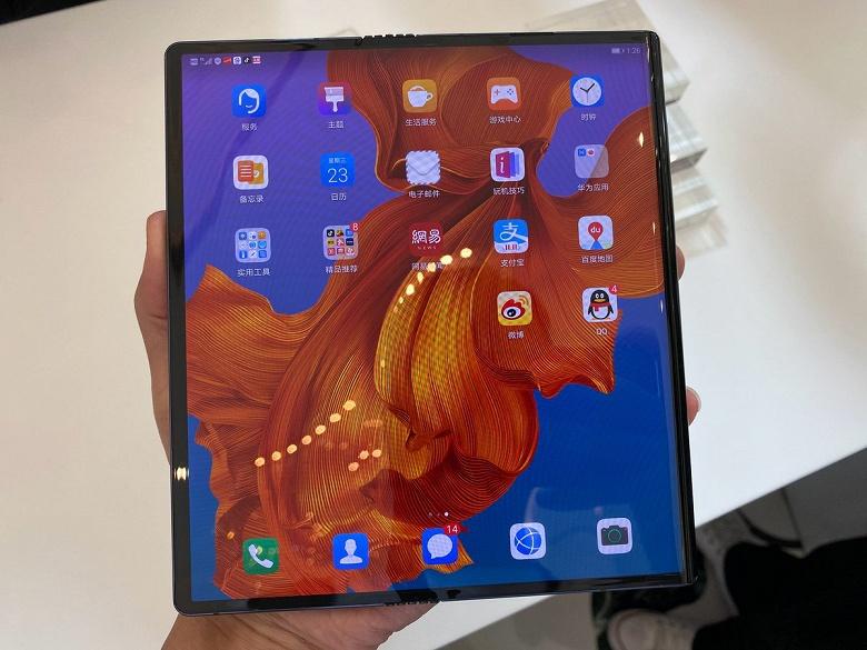 Гибкие экраны для Huawei Mate X поставляет одна компания
