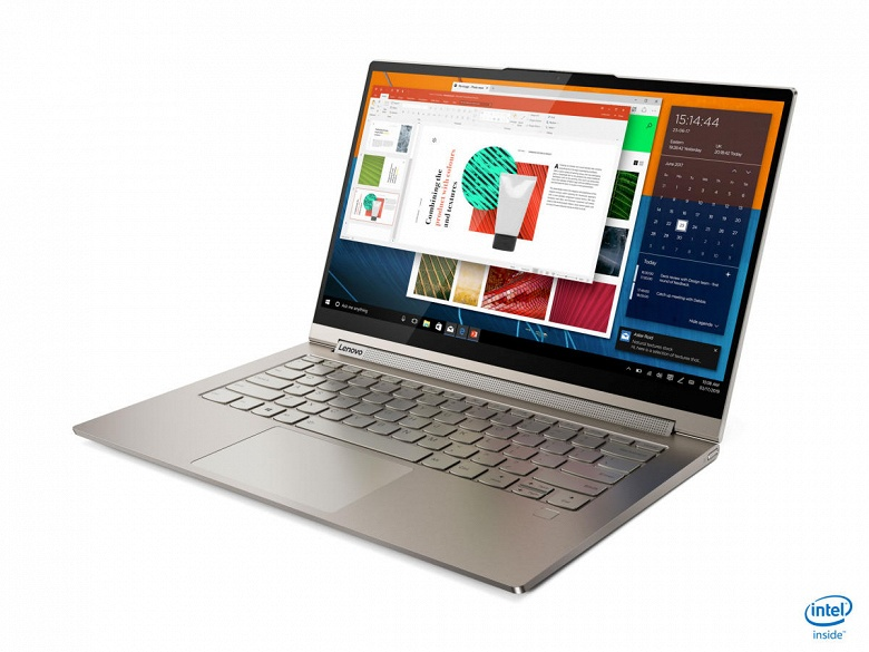 Ноутбук 2-в-1 Lenovo Yoga С740 выходит в России