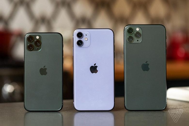 Продажи OLED-экранов Samsung взлетели благодаря успеху iPhone 11 Pro и 11 Pro Max
