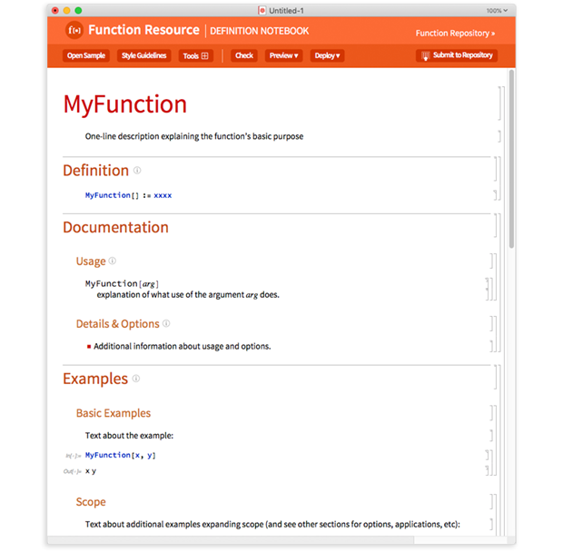 Wolfram Function Repository: открытый доступ к платформе для расширений языка Wolfram - 6