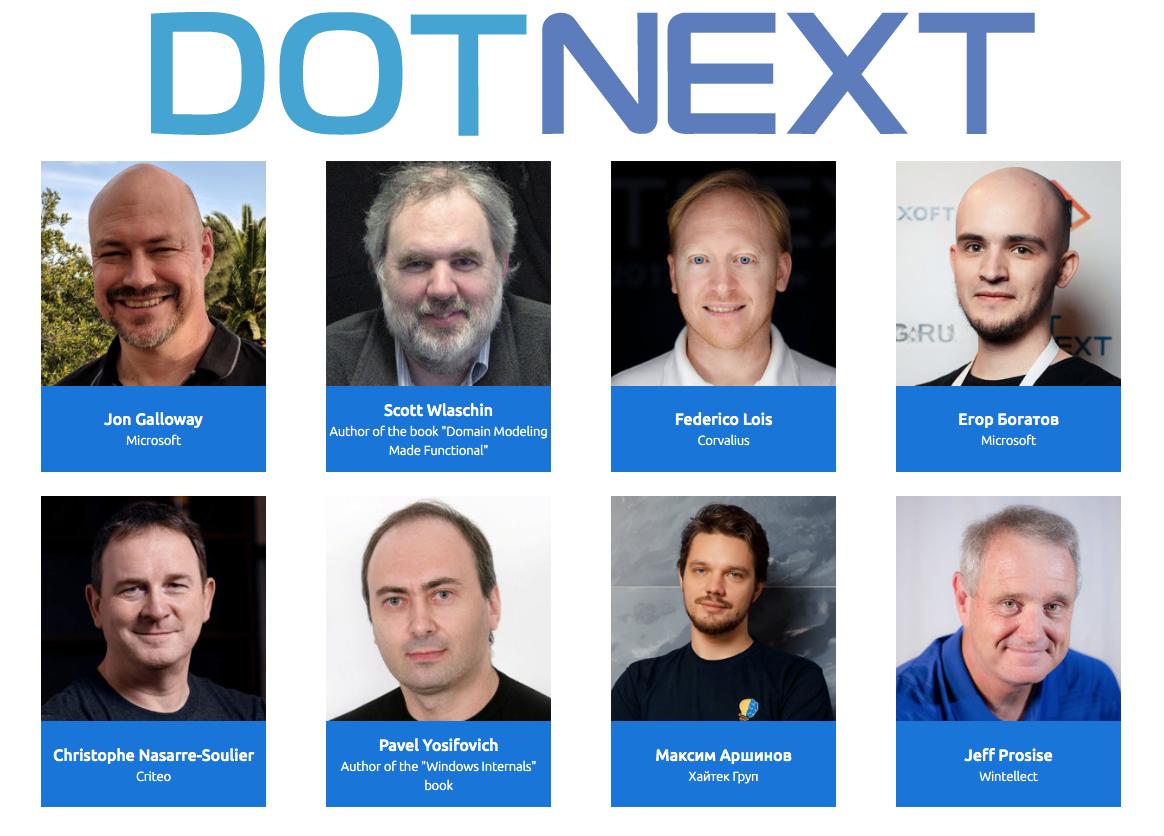 Обзор программы DotNext 2019 Moscow: кто и о чём расскажет? - 1
