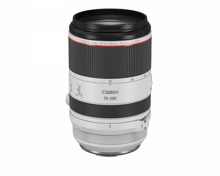 Систему Canon EOS R пополнил третий светосильный зум