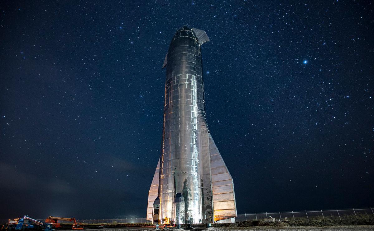 История Starship: через водонапорные башни к звёздам - 1
