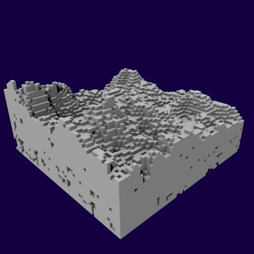 Создаём свою Minecraft: генерация 3D-уровней из кубов - 23