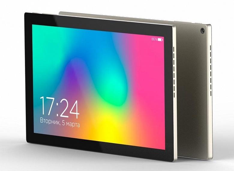 В России представлен облегчённый планшет с процессором «Эльбрус»