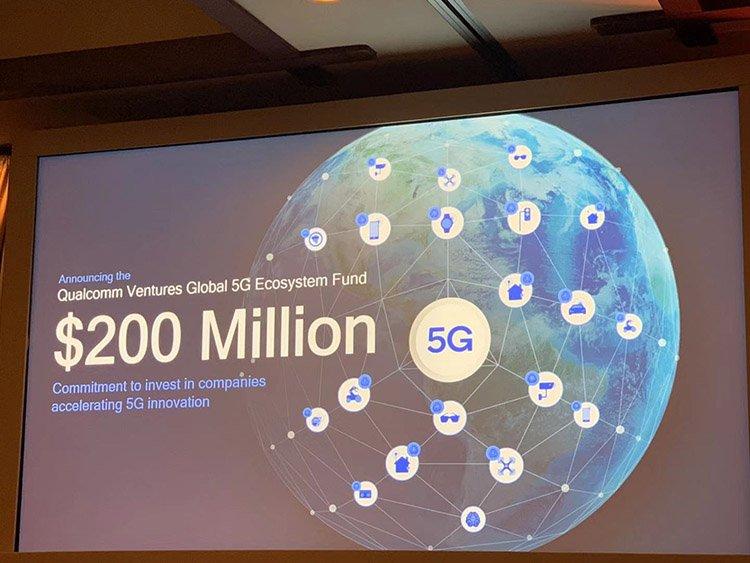Qualcomm выделяет 200 млн долларов на продвижение технологии 5G