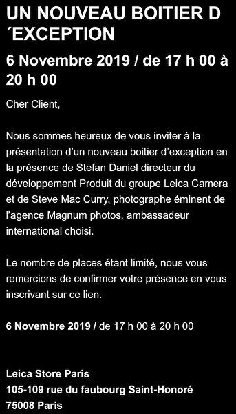 Названа дата анонса камеры Leica SL2