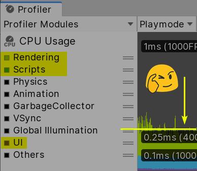 Профилирование Unity UI: кто портит мой батчинг? - 8