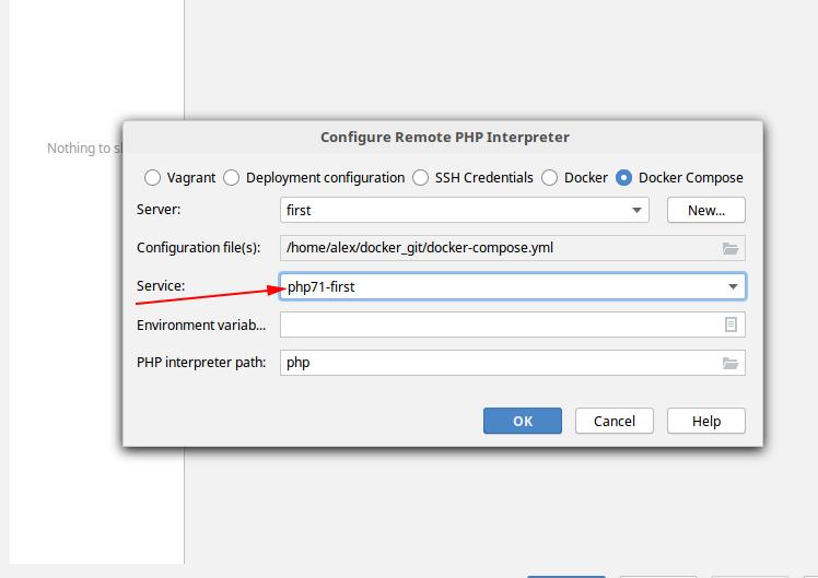 Docker + php-fpm + PhpStorm + Xdebug - 13