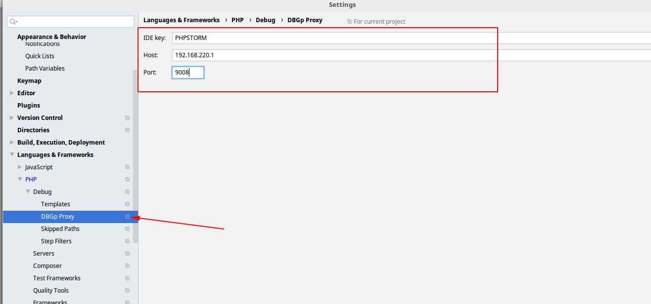 Docker + php-fpm + PhpStorm + Xdebug - 16