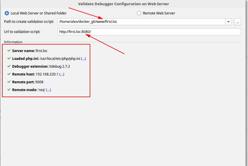 Docker + php-fpm + PhpStorm + Xdebug - 18