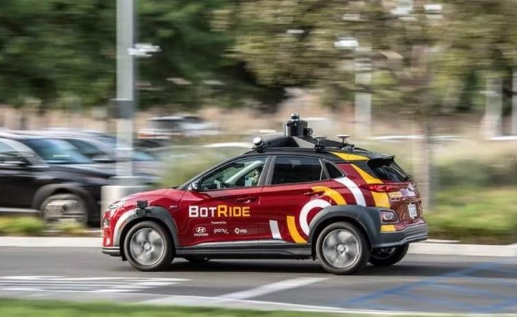 Hyundai запустит в Калифорнии сервис бесплатных автономных такси