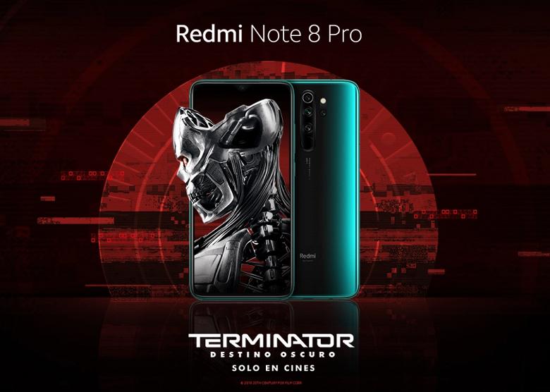 Представлен смартфон Redmi Note 8 Pro Terminator Edition