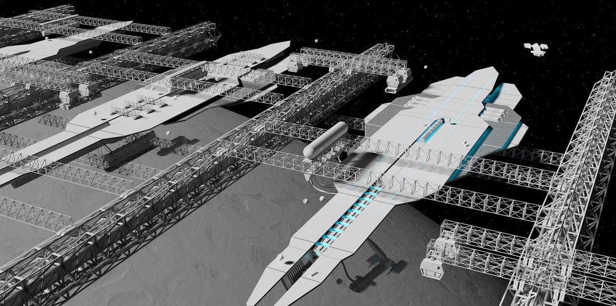 Симулятор кораблестроения в космоопере - 1