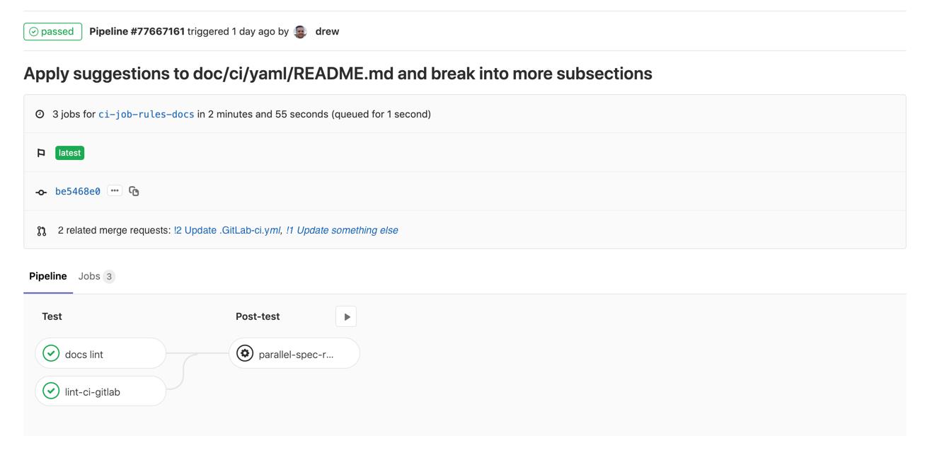 GitLab 12.4 с улучшенными зависимостями мердж-реквестов и Audit API - 11