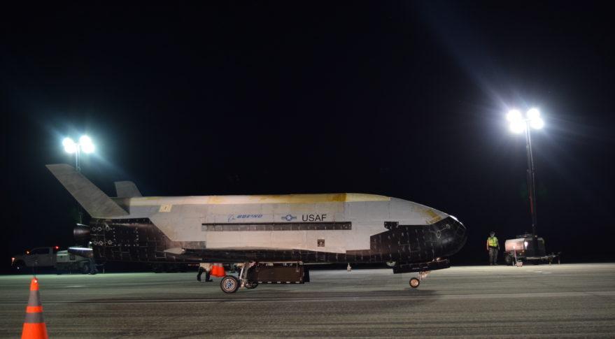 Беспилотный многоразовый корабль X-37B провёл 2 года в космосе и побил собственный рекорд - 1