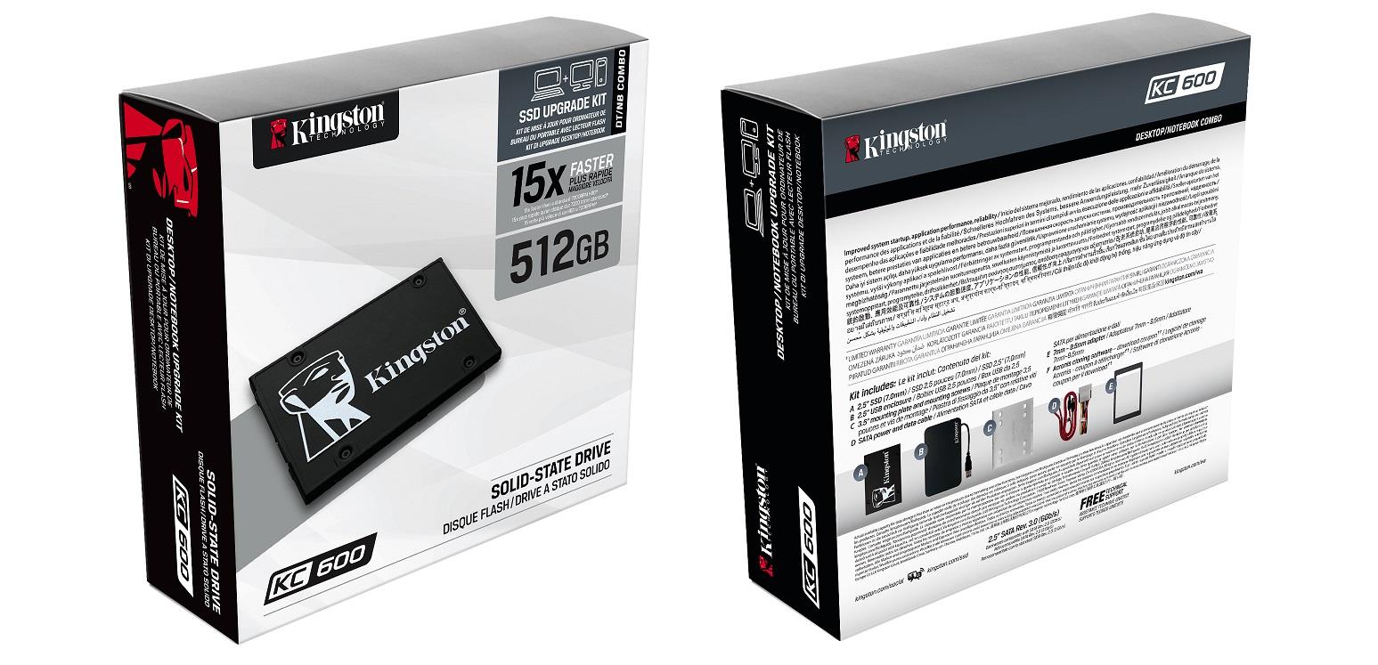 Новый SSD для ноутбуков и десктопов. KC600 — высокая скорость, большой объем - 4