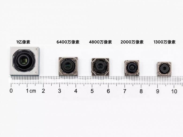 Камеры разрешением 108, 64, 48, 20 и 13 Мп на одной линейке