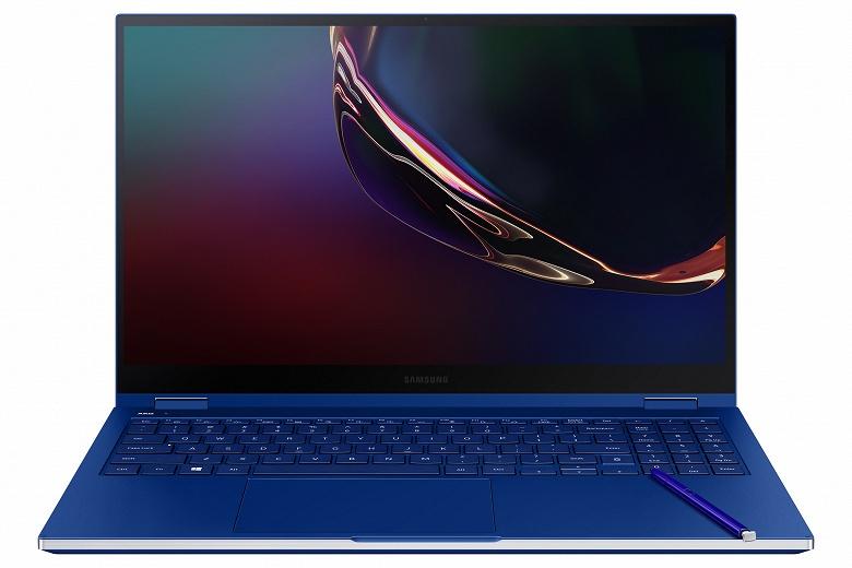Samsung представила первые в мире ноутбуки с экранами QLED