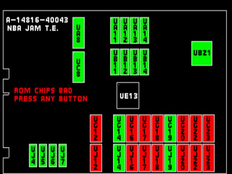 Реверс-инжиниринг аркадного автомата: записываем Майкла Джордана в NBA Jam - 10