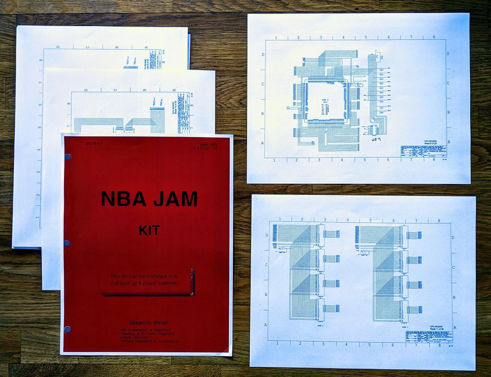 Реверс-инжиниринг аркадного автомата: записываем Майкла Джордана в NBA Jam - 6