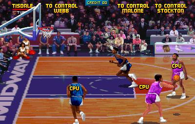 Реверс-инжиниринг аркадного автомата: записываем Майкла Джордана в NBA Jam - 1