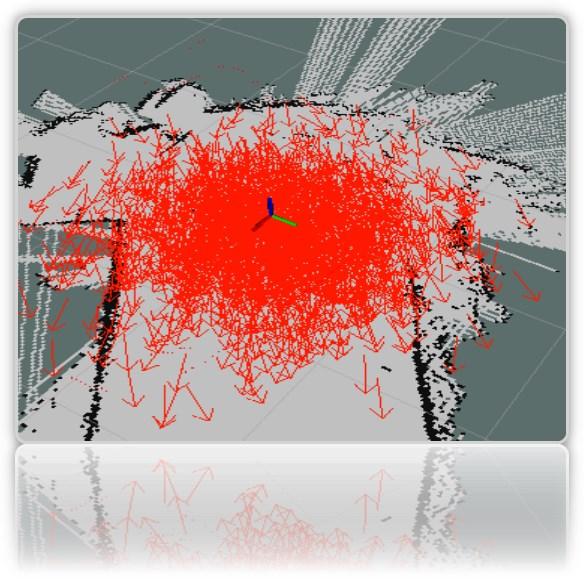 Робот-тележка на ROS. Часть 7. Локализация робота: gmapping, AMCL, реперные точки на карте помещения - 8