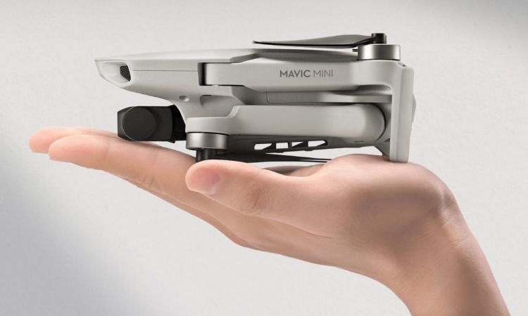 DJI представила свой самый компактный дрон — Mavic Mini