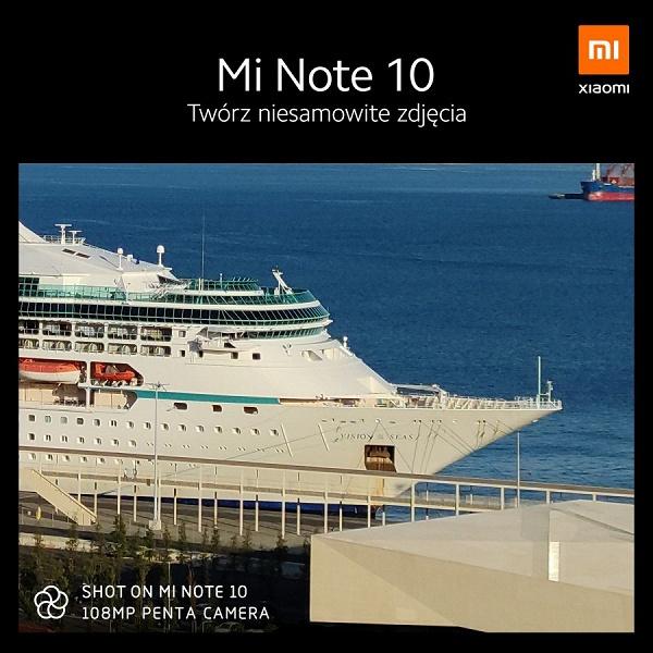 Круизный лайнер Vision of Seas попал в объектив Xiaomi Mi Note 10, который обзавелся датой начала продаж