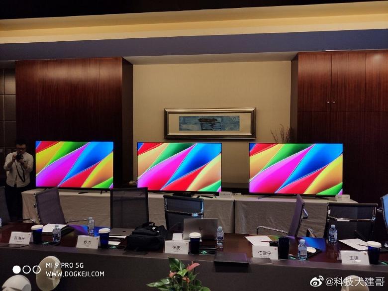 Почти дождались: новый флагманский телевизор Xiaomi Mi TV 5 позирует на живых фото