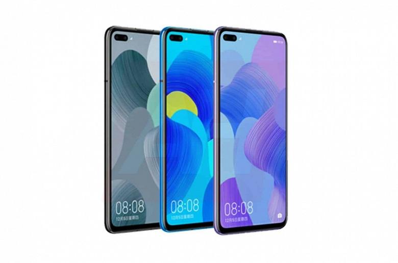 Новые смартфоны Huawei показались в подробностях и нескольких цветах
