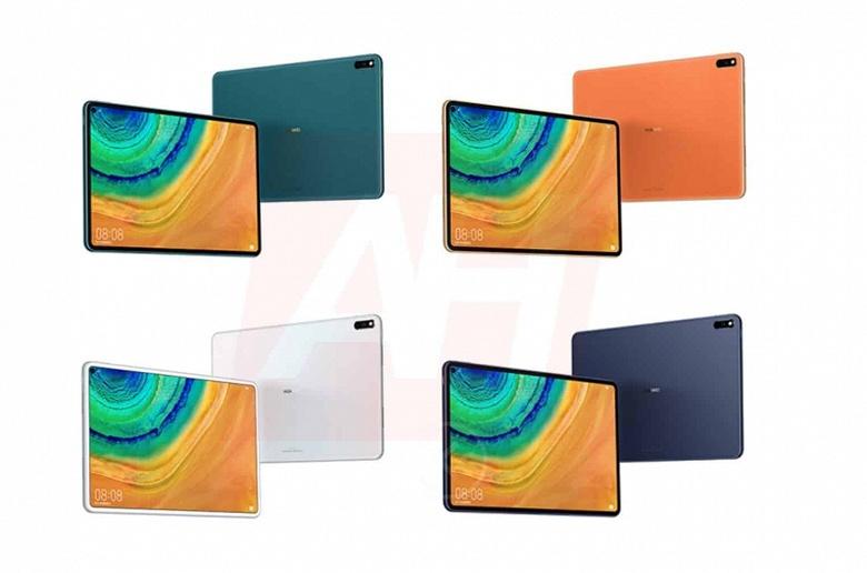 Первый планшет Huawei с отверстием в экране окажется яркой штучкой