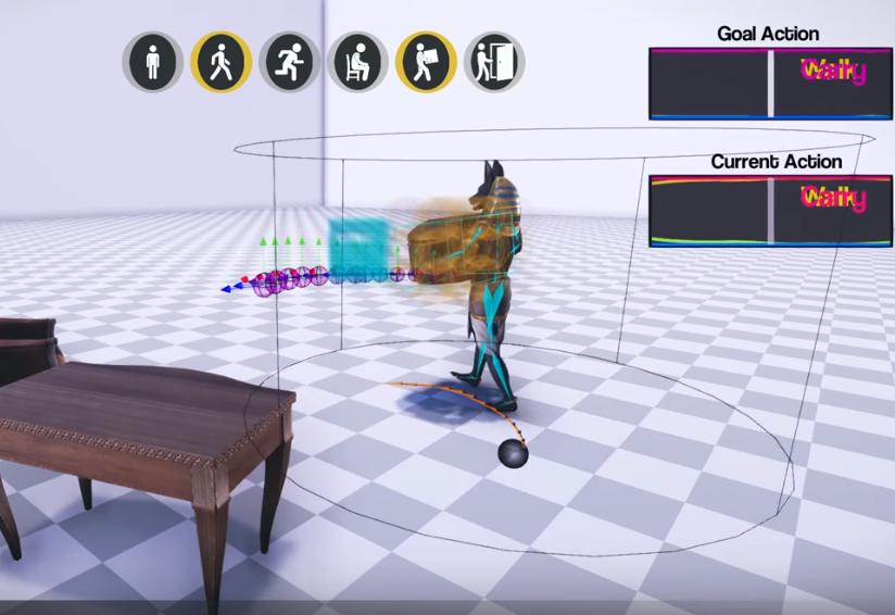 Реалистичная анимация персонажей в играх с помощью ИИ - 1