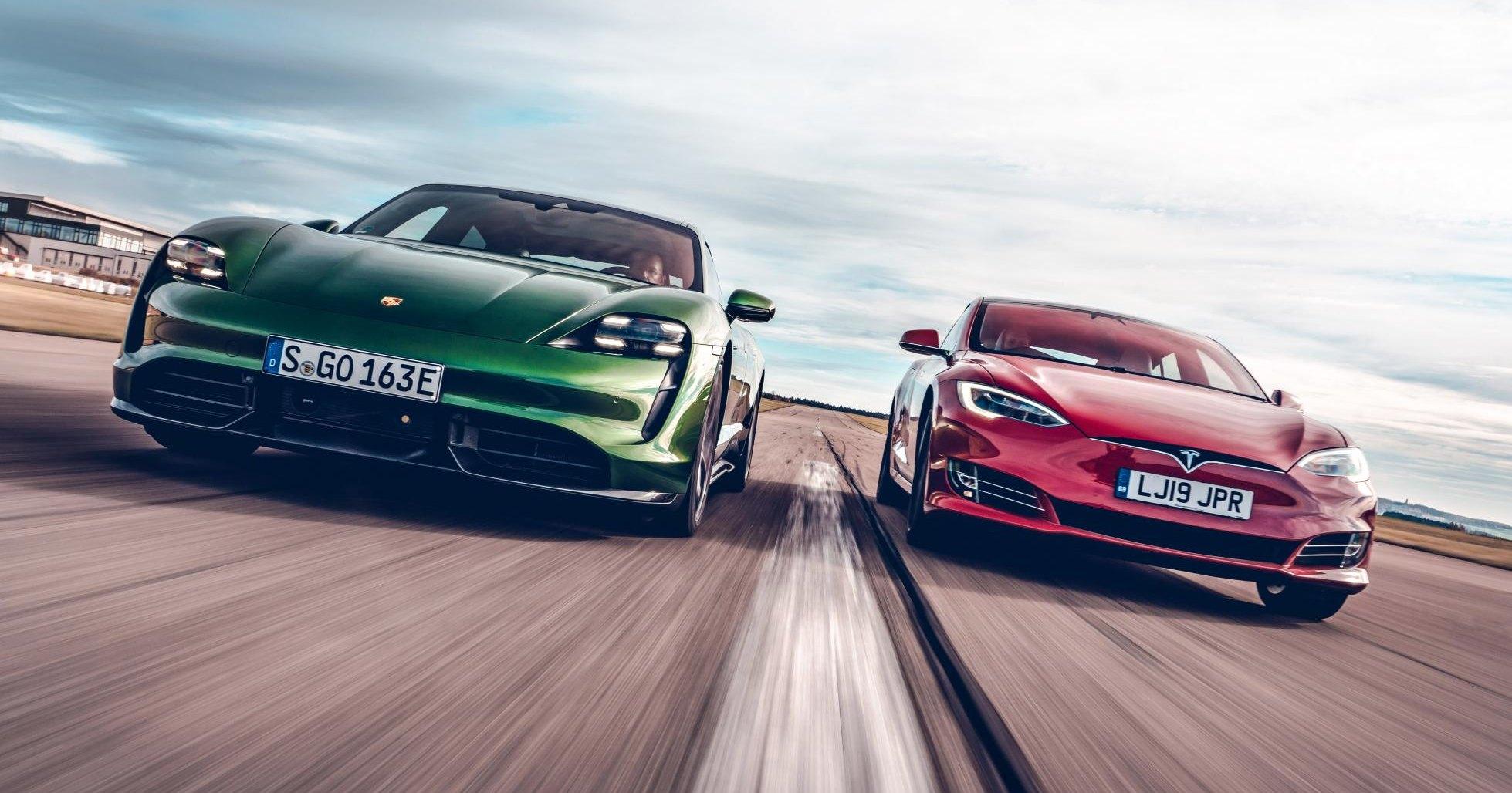Tesla станет мощнее, чтобы победить Porsche