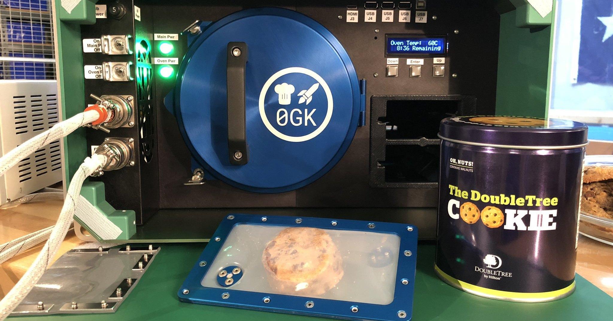 На МКС отправлена духовка для печенья