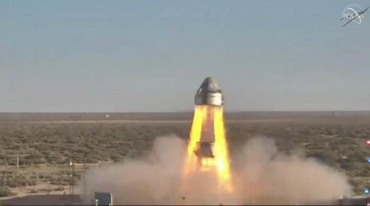 Испытание ключевой системы космического корабля Boeing Starliner прошло успешно