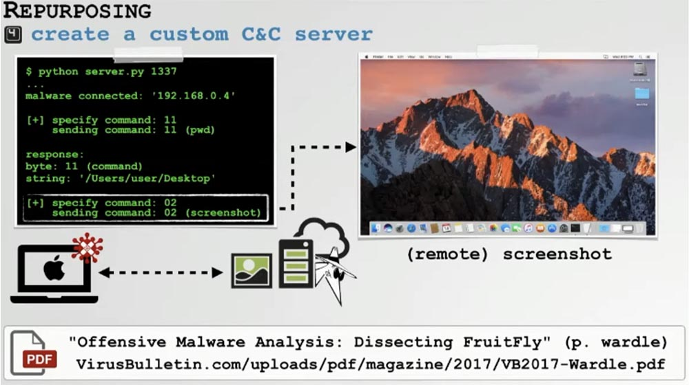 Конференция DEFCON 27. Извлечение пользы из хакерских продуктов для macOS. Часть 1 - 11