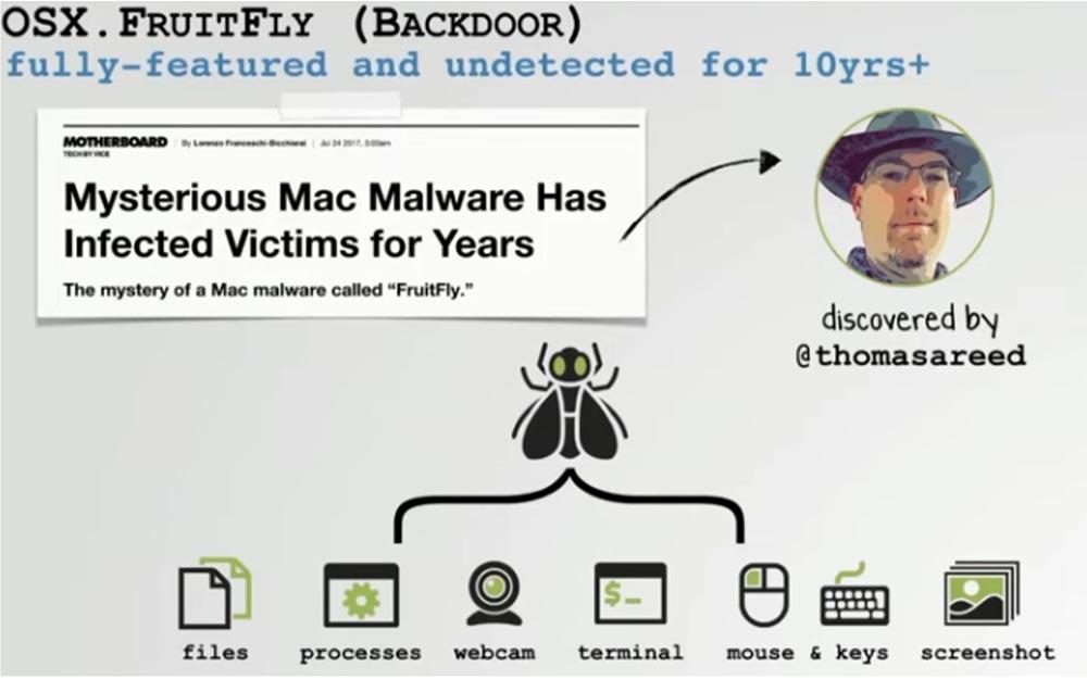 Конференция DEFCON 27. Извлечение пользы из хакерских продуктов для macOS. Часть 1 - 12