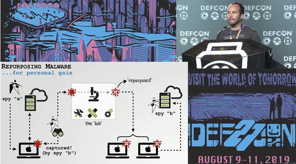 Конференция DEFCON 27. Извлечение пользы из хакерских продуктов для macOS. Часть 1 - 2